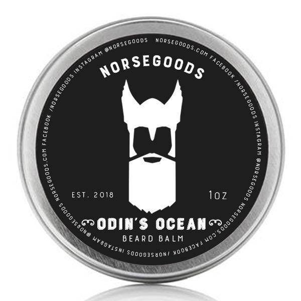 Norsegoods Odins ocean beard balm